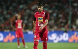 کمیته انضباطی باشگاه پرسپولیس فرشاد احمدزاده را نقره داغ کرد