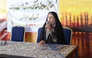 فاطمه ذوالقدرتاکید کرد:نقش بی بدیل بانوان ایران اسلامی درعرصه های گوناگون اجتماع