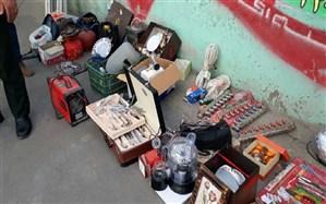 شبکه سارقان حرفهای در میاندوآب متلاشی شد
