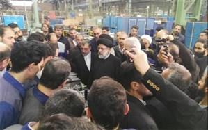 بازدید سرزده رئیس قوه قضائیه از گروه ماشین سازی تبریز