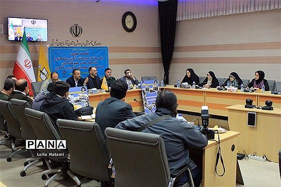 نشست خبری مسئول بسیج دانشآموزی سپاه عاشورا