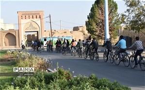همایش دوچرخه سواری در بهاباد برگزارشد