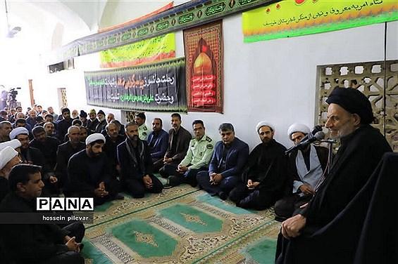 سخنرانی حجت الاسلام والمسلمین عبادی نمایده ولی فقیه در شهرستان خوسف
