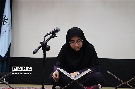 جشنواره قرآنی درون مدرسه ای دبیرستان فرزانگان یزد