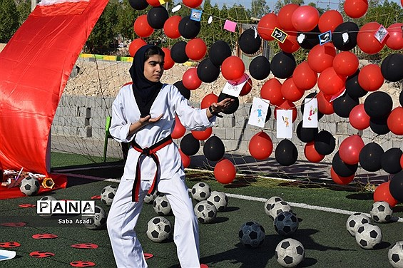 افتتاح المپیاد درون مدرسهای در گلهدار