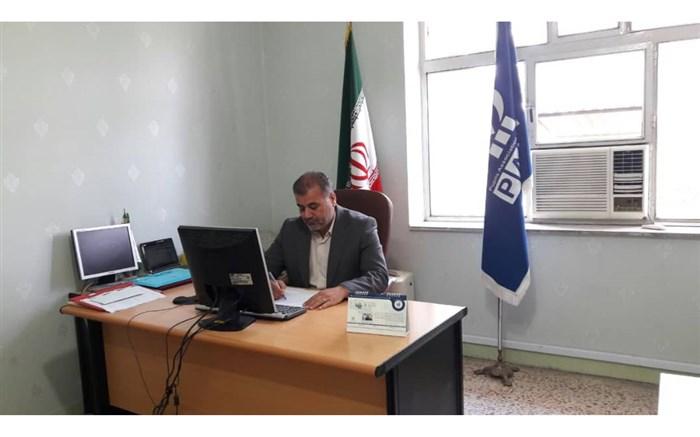حسنعلی پور رئیس سازمان دانش آموزی قزوین