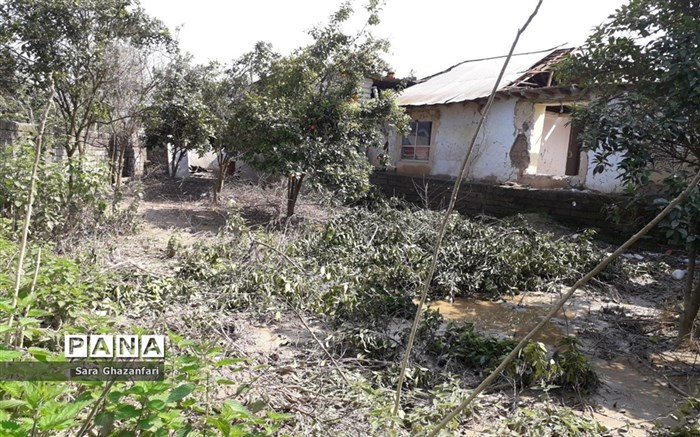 روستای تالارپشت سیمرغ؛ یک ماه بعد از سیل