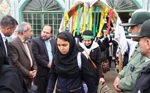 اعزام 250دانش آموز گلستانی به مناطق عملیاتی جنوب کشور