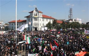 گیلان برای  راهپیمایی با شکوه  ۱۳  آبان  آماده شد