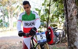 دوچرخهسوار ایرانی با تاریخسازی صدرنشین آسیا شد