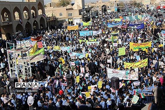 راهپیمایی یوم الله 13 آبان در یزد