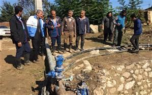 آب آشامیدنی 8 روستای گلوگاه وصل شد
