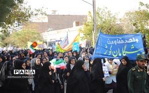 حضور نسل چهارم انقلاب پای آرمان های امام راحل(ره) در تایباد