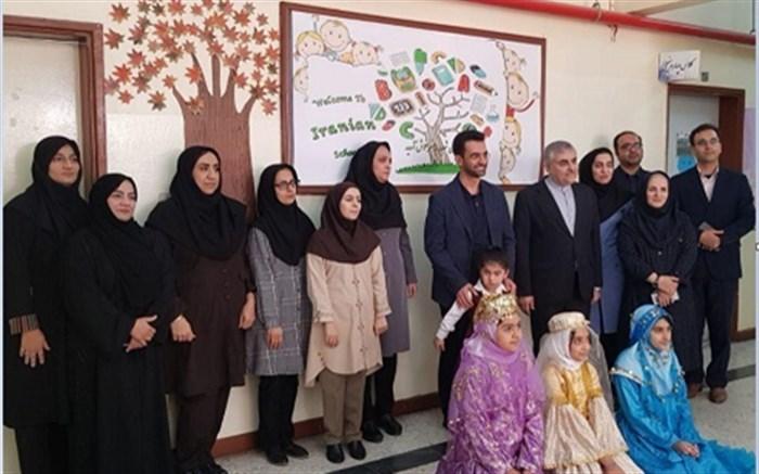 بازدید وزیر ارتباطات و فناوری اطلاعات از مدارس ایرانی قطر