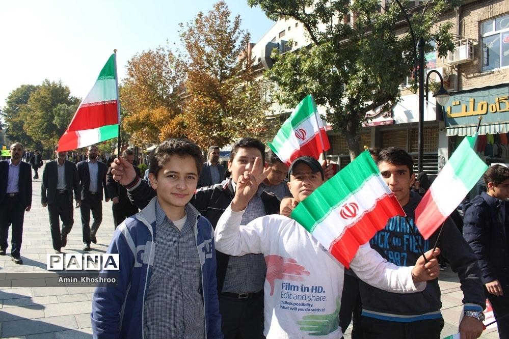 ١٣ آبان یک روز تاریخی برای مردم ایران