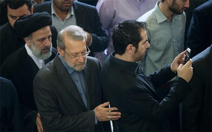علی لاریجانی و رئیسی
