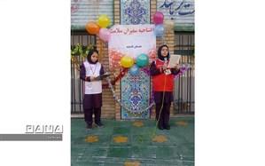افتتاحیه سفیران سلامت در مدارس منطقه 11