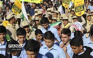13 آبان امسال، مشت محکم ملت بزرگ ایران بر دهان استکبارجهانی شد