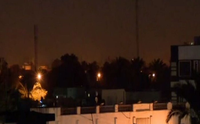 شنیده شدن صدای انفجار در بغداد
