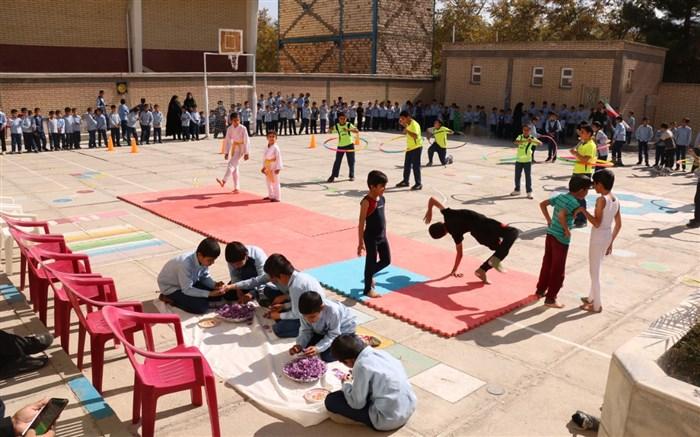 آغاز المپیاد ورزشی درون مدارس گناباد