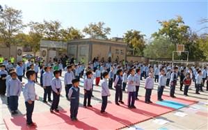 آغاز المپیاد ورزشی درون مدرسه ای در  مدارس گناباد