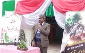 زنگ پدافند غیرعامل  چناران در دبیرستان حضرت زینب س  شهرستان چناران به صدا در آمد