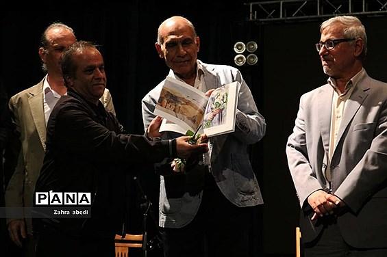 آیین گشایش سمپوزیوم ملی نقاشی آبرنگ ایران در شیراز