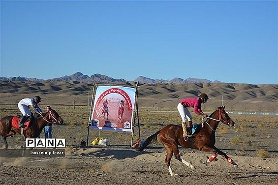 برگزاری مسابقات اسب سواری در شهرستان بیرجند