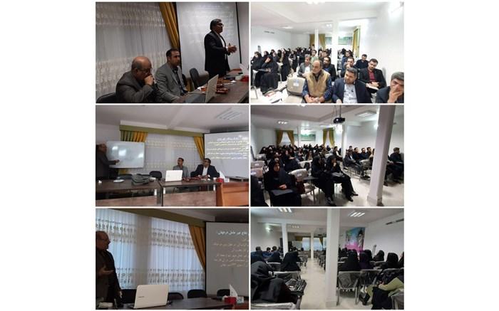 کارگاه آموزشی پدافند غیرعامل در امیرآباد برگزار شد