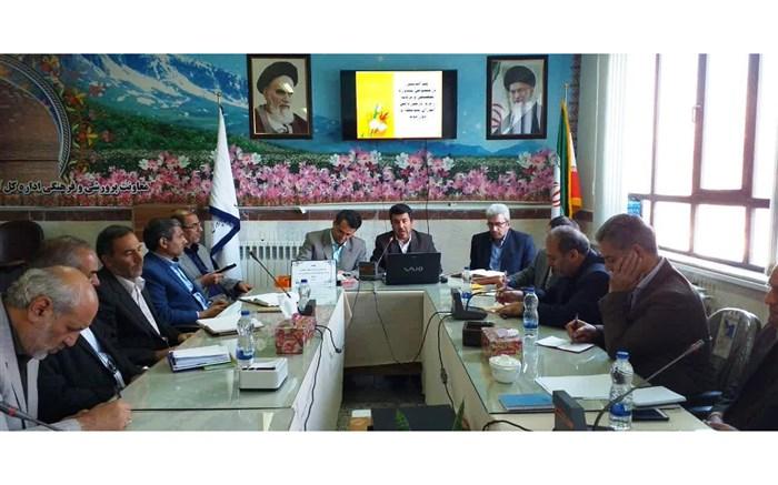 جلسه هم اندیشی مشاوره تحصیلی و برنامه ریزی درسی دانش آموزان اردبیل