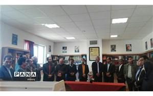 مراسم افتتاحیه کتابخانه خیرساز در دبیرستان عفاف کاشمربرگزار شد