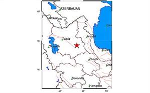 وقوع زلزله 4.8 ریشتری در ترکمانچای