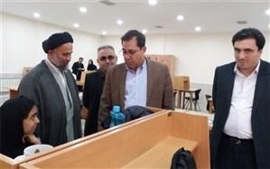 بازدید  فرماندار ویژه شهرستان ری از کتابخانه شیخ کلینی