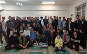 نشست صمیمی اعضاء اتحادیه انجمن های اسلامی دانش آموزان چهارمحال و بختیاری با حجت الاسلام والمسلمین فاطمی