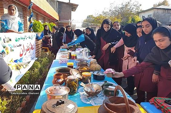 آیین گرامیداشت روز مازندران در دبیرستان معرفت محمودآباد