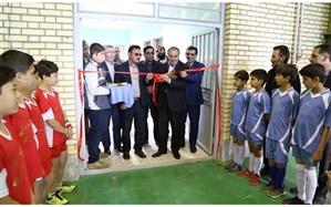 """افتتاح سالن ورزشی هنرستان """" استاد شهریار"""" ناحیه یک اردبیل"""