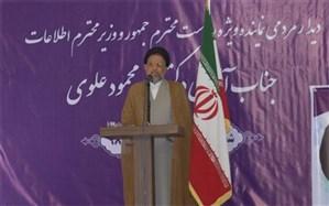 وزیر اطلاعات: امروز باید در برابر تهدیدهای دشمن مقاومت کرد