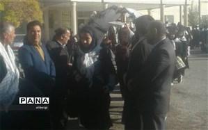 اعزام دانش آموزان شهرستان بن به اردوی راهیان نور