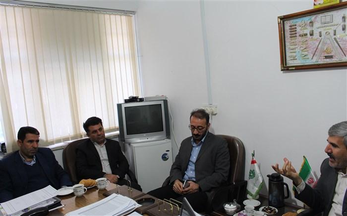 دیدار مدیر کل کمیته امداد با مدیر سازمان دانش آموزی