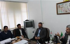 دیدار مدیر کل کمیته امداداستان کردستان ومعاون مشارکت های مردمی با مدیر سازمان دانش آموزی استان