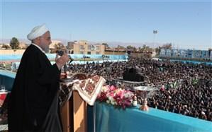 روحانی: اگر برجام را حفظ کنیم سال آینده تحریم تسلیحاتی ایران برداشته خواهد شد