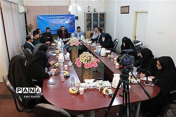 نشست خبری مدیرکل نهادکتابخانههای عمومی استان خوزستان