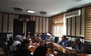 برگزاری کمیته فرهنگی و پیشگیری شورای مبارزه با مواد مخدرآموزش و پرورش ناحیه دو شهر ری