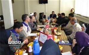 شورای برنامه ریزی سازمان دانش آموزی برخوار برگزار شد