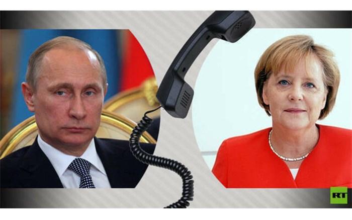 تماس تلفنی پوتین و مرکل حول محور اوکراین، لیبی و سوریه