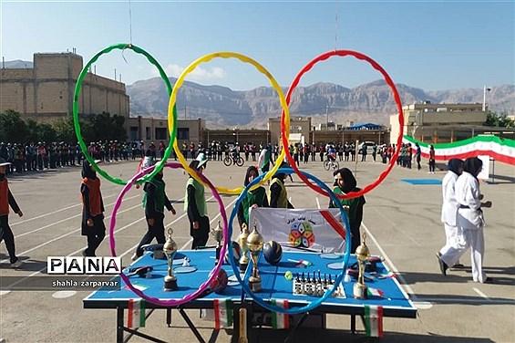 برگزاری المپیاد ورزشی درون مدرسه ای در نی ریز