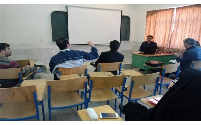 دوره آموزشی مدیریت،حفظ و نگهداری مجتمع های آموزشی-ورزشی برگزار شد
