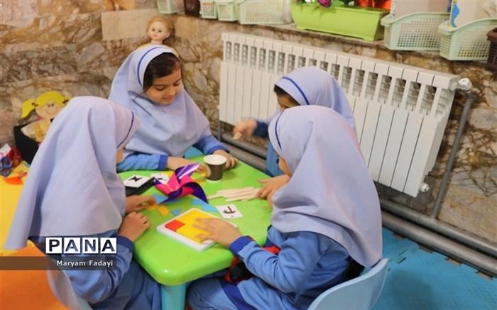 آیین افتتاح نمادین نخستین اتاق یادگیری و بازی در مدارس دوره ابتدایی