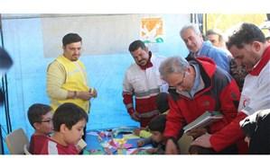 طرح امداد فرهنگی و پیک امید در مناطق زلزله زده