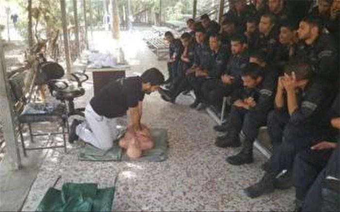 آموزش امدادی بیش از هزار سرباز وظیفه